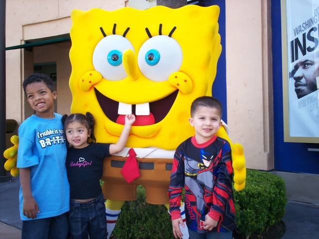 First Trip to Universal Studios Hollywood