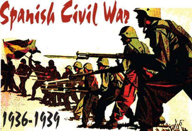 **Spanish Civil War Begins
