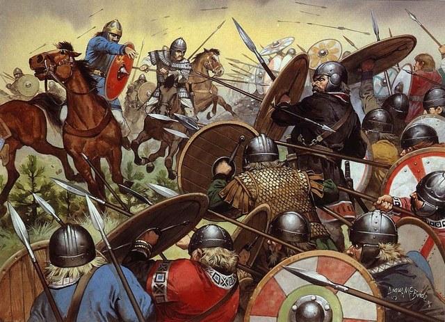 La caída del imperio romano, el inicio de la edad media