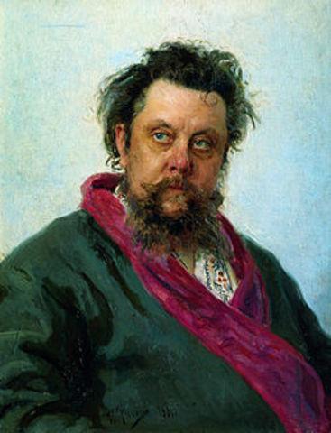 Modest Mussorgski 1839 - 1881