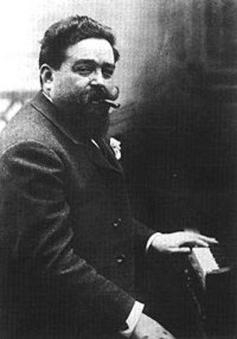 Isaac Albéniz 1860 - 1909