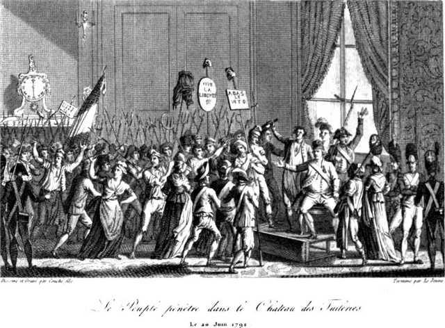 Asalto  del Palacio de las Tullerías