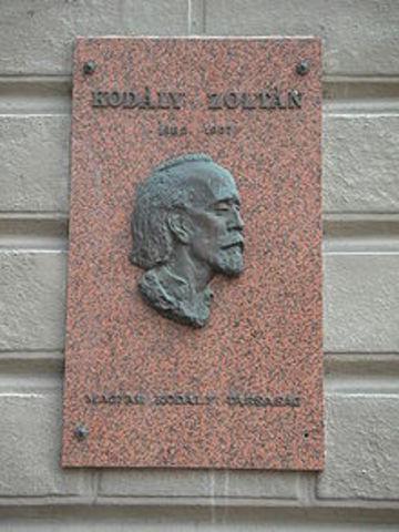 Zoltán Kodály 1882-1967