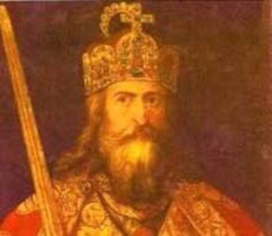 Comienza el reinado de Carlomagno