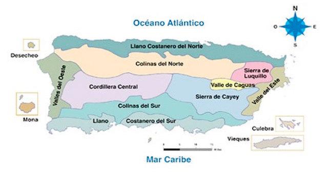 Area geografica