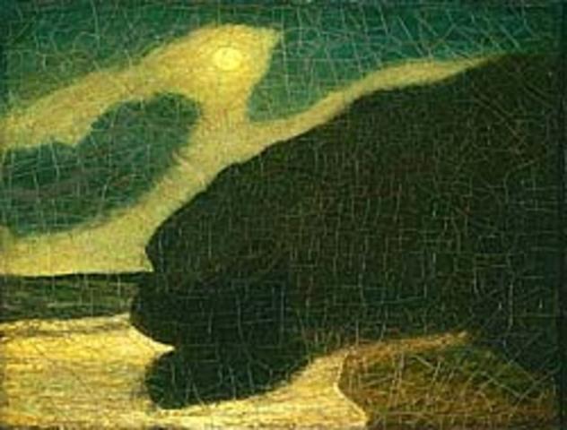 "Albert Pinkham Ryder's ""Moonlit Cove"""