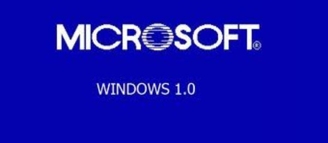 Microsoft anuncia Windows 1.0.