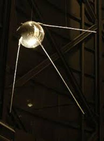 First Satellite launched into orbit