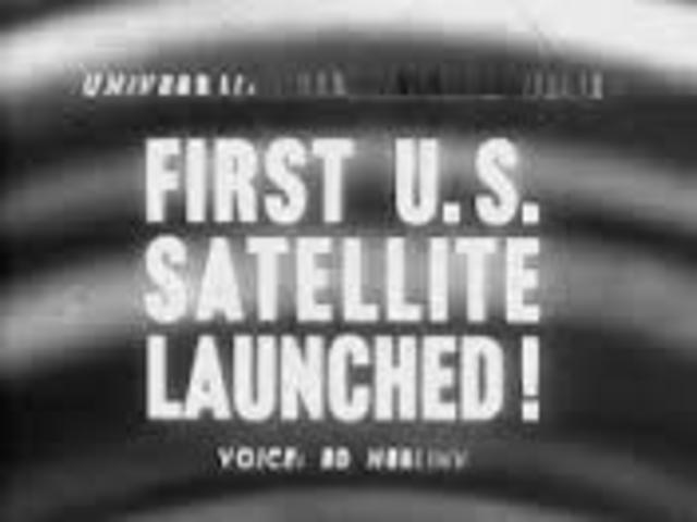 America Launches its first Satellite
