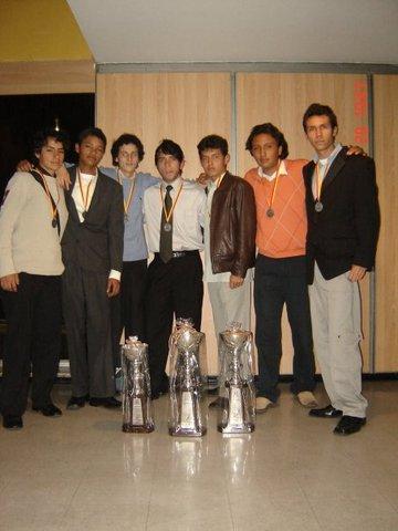 Campeon Club Amigos de voleibol Juvenil