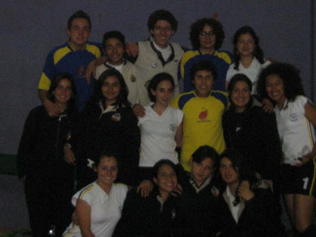 Equipo de Voleibol Masculino en el IPN