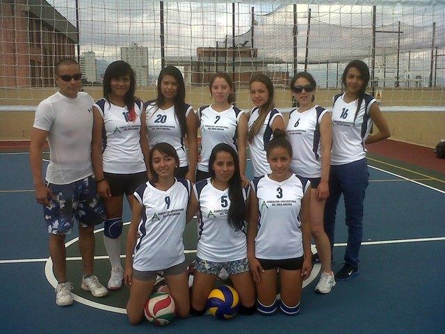 Entrenador Voleibol Fundacion Universitaria del Area Andina