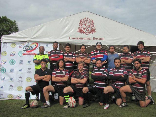 Equipo de Rugby de la Universidad del Rosario 2011- 2012