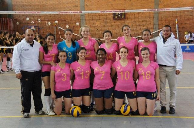 Club Amigos Campeonato Distrital Interclubes Liga de Voleibol de Bogotá 2013