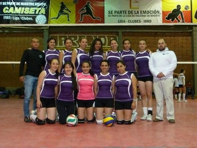 Club Amigos Abierto Bogotano voleibol  2012, Segundo Semestre.