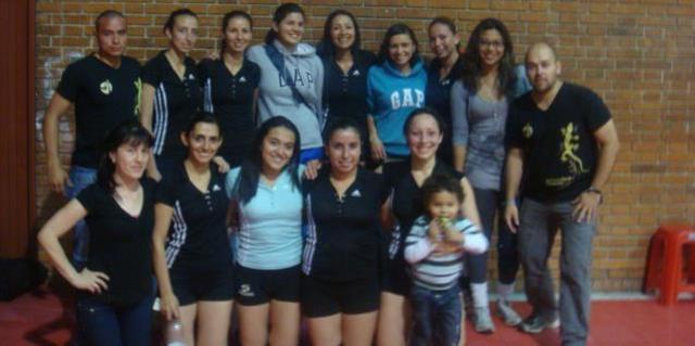 Club Amigos  Abierto Bogotano voleibol  2012, primer semestre.