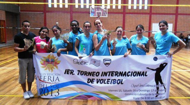 Club Amigos Primer Campeonato Internacional de Voleibol Mérida-Venezuela, Copa Feria del Sol 2013