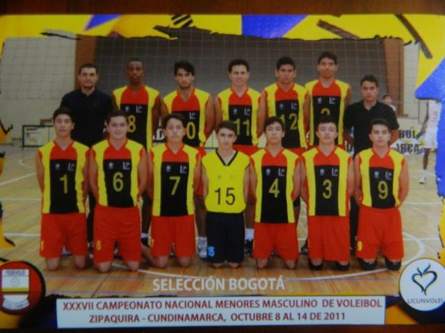 Entrenador Asistente Nacional Menores Zipaquirá Masculino 2011