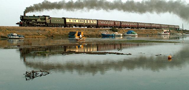 Primera linea ferroviaria moderna
