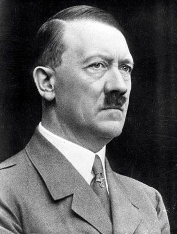 Hitler becomes Furer of Germany