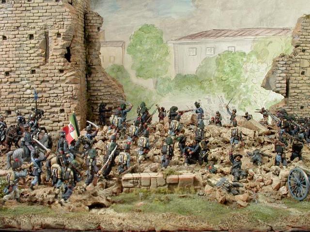 El ejército italiano entra en Roma
