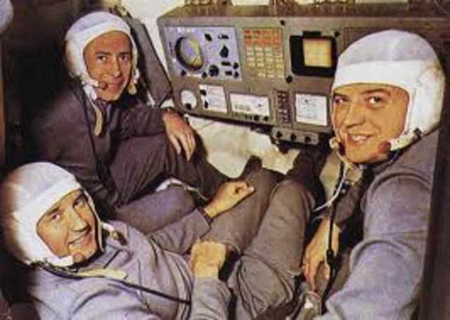Muore la Soyuz 11