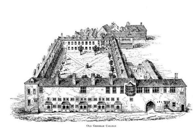 Foundation of the Royal Society