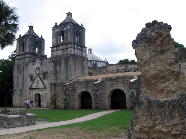 St. Denis and Domingo Ramon missions