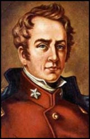 William Travis captures Anahuac
