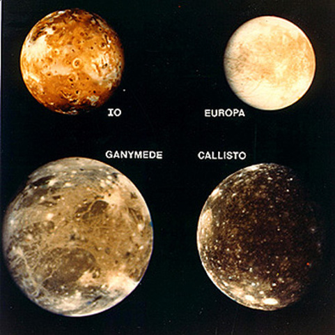 Jupiter's first moons are discovered