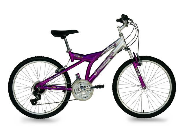 Yo recibí mi primera bicicleta