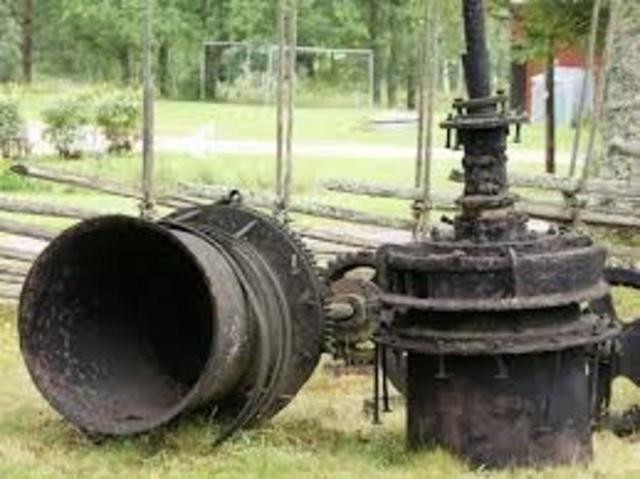 Här började manutveckla vattenturbiner.