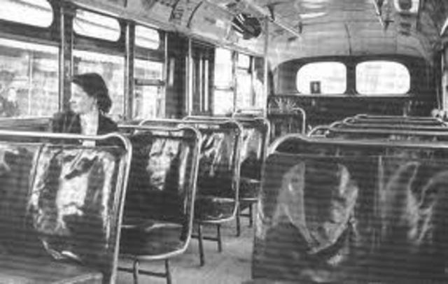 Montgomery Bus Boycott Started