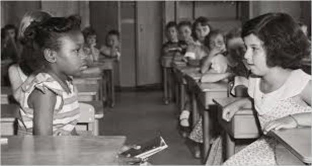 Schools end Segregation