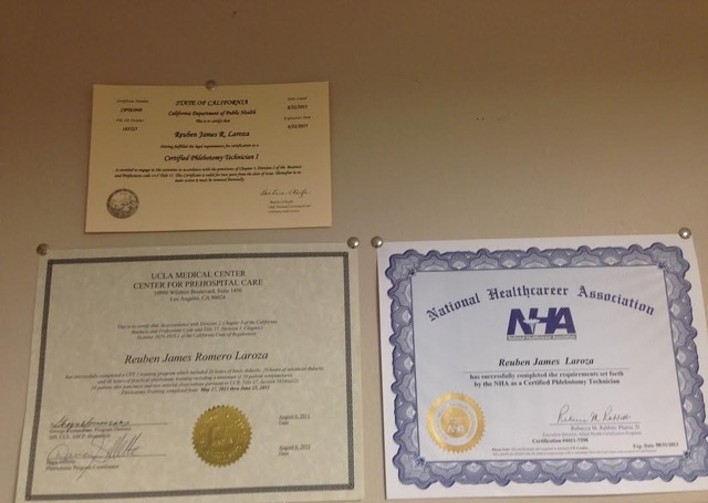Certified & Licensed CPT I