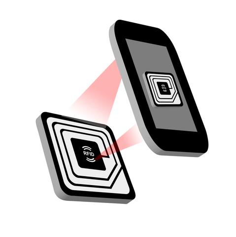 Etiquette NFC