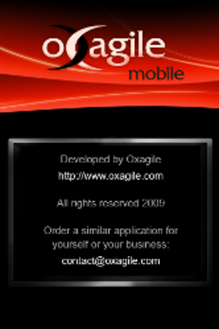 Oxagile Launches iPhone Corporate Application