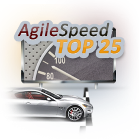 Oxagile iPhone Application Agilespeed Reached Top 25 on the App Store