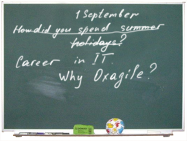 Oxagile Welcomes Graduates-to-Be