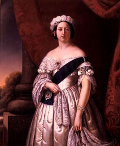 Victoria I asciende al trono en Reino Unido.