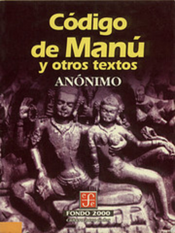 1280 a 880 aC. Código de Manú
