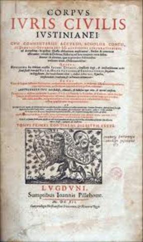 529. Código de Justiniano.