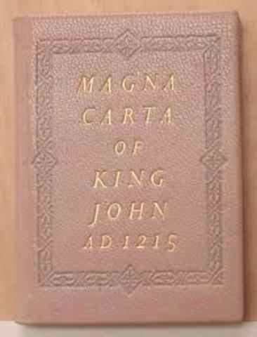 1215. Carta Magna.