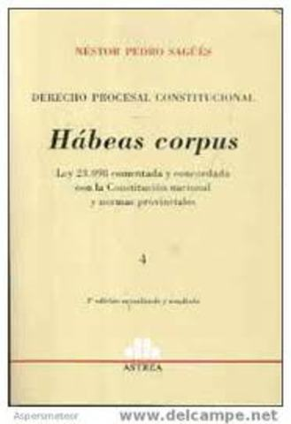 1679. Acta de Habeas Corpus