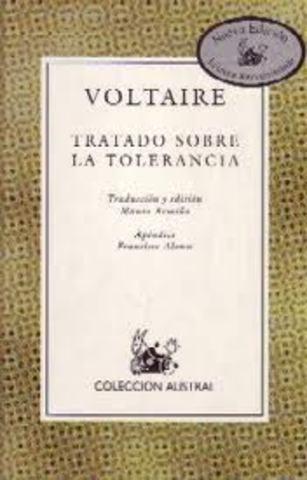 1763. Voltaire: