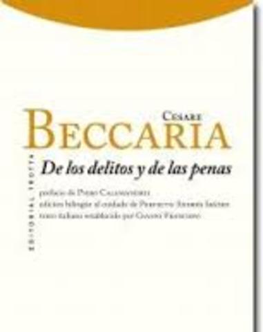 1764. Beccaria