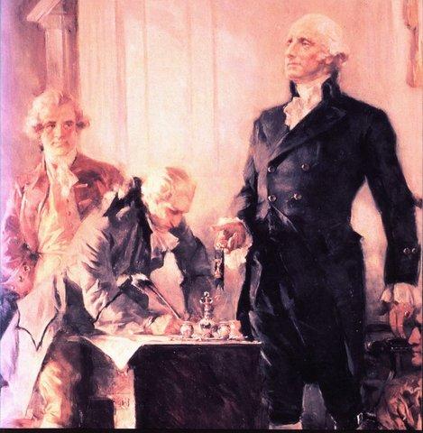 1787. Constitución de los Estados Unidos.