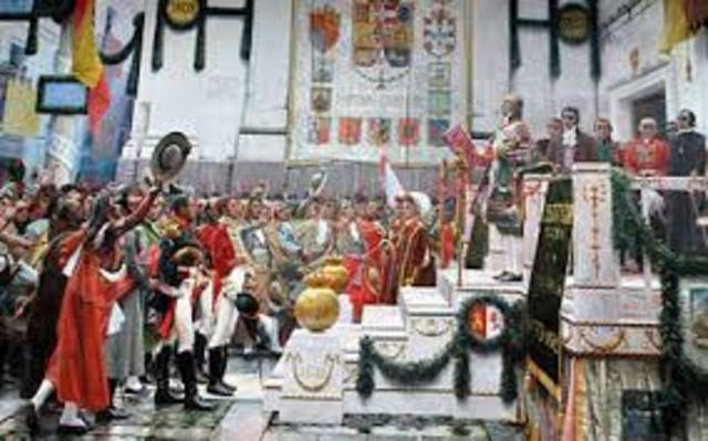 1808. Constitución de Bayona