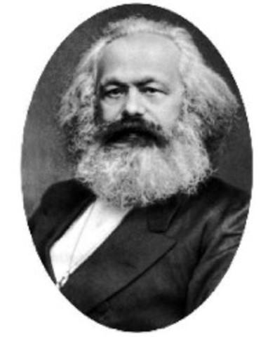 1848. Marx y Engels: Manifiesto comunista.