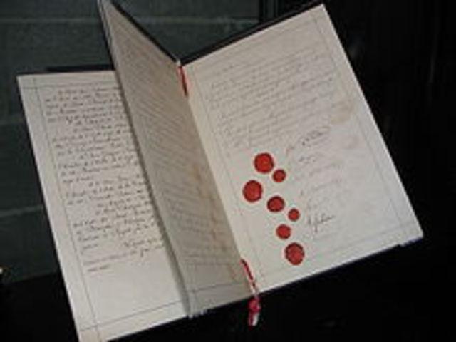 1864: Convención de Ginebra.